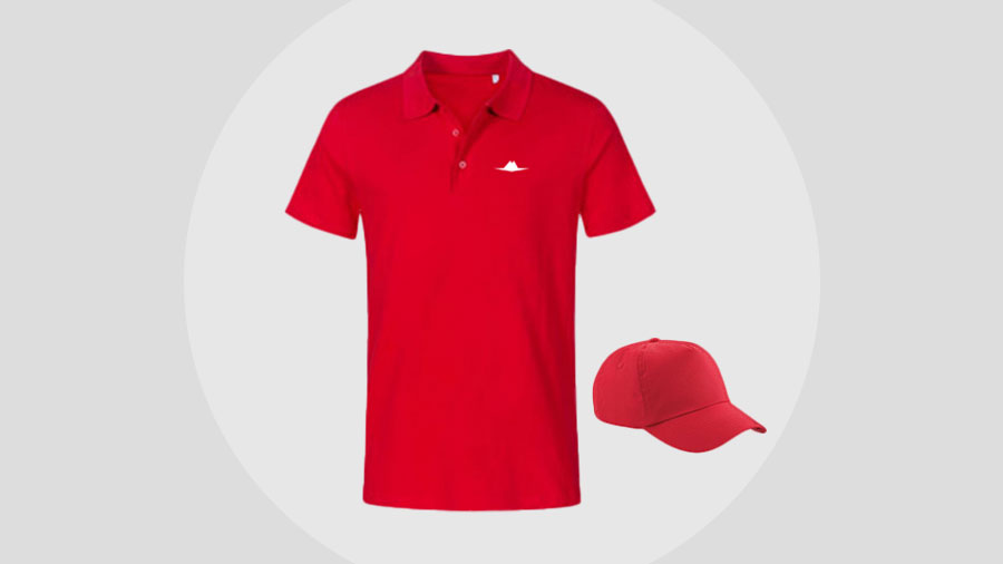 workwear fire red
